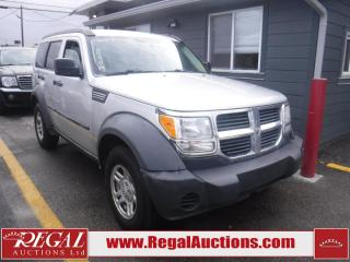 Used 2007 Dodge Nitro 4D Utility 4WD for sale in Calgary, AB