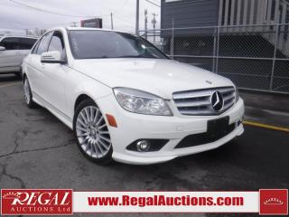 Used 2010 Mercedes-Benz C-CLASS C250 4D SEDAN 4MATIC AWD for sale in Calgary, AB