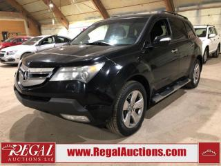 Used 2007 Acura MDX Elite 4D Utility for sale in Calgary, AB