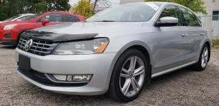 Used 2012 Volkswagen Passat Highline TDI Certified 2 yrs WarrantySEL Premium for sale in Mississauga, ON