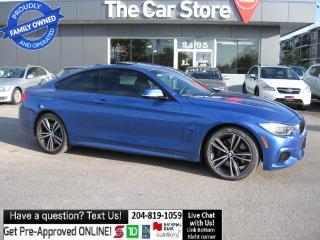 Used 2015 BMW 4 Series 435i xDrive - M SPORTS PKG- NAVIGATION PUSH START! for sale in Winnipeg, MB