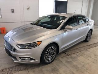 Used 2017 Ford Fusion Titanium|APPLE CAR PLAY/ANDROID AUTO|58,327 KMS for sale in Cambridge, ON