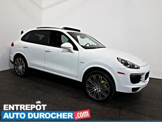 Used 2017 Porsche Cayenne AWD HYBRID NAVIGATION - Toit Ouvrant - A/C - Cuir for sale in Laval, QC