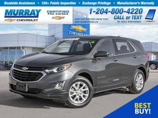 Used 2018 Chevrolet Equinox LT w/1LT *Remote Start, Heated Seats, ABS Brakes* for sale in Winnipeg, MB