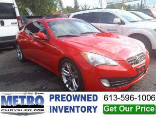 Used 2011 Hyundai Genesis Coupe 3.8 for sale in Ottawa, ON