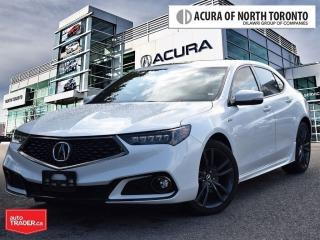 Used 2019 Acura TLX 3.5L SH-AWD w/Tech Pkg A-Spec Red No Accident| AWD for sale in Thornhill, ON