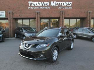 Used 2015 Nissan Rogue SV - NO ACCIDENTS - PANORAMA ROOF - REAR CAM - PUSH START BT for sale in Mississauga, ON