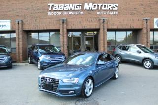 Used 2015 Audi A4 PROGRESSIVE - NAVIGATION - S-LINE W/SPORT - REAR CAM - BT for sale in Mississauga, ON