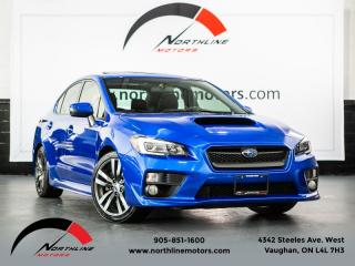 Used 2017 Subaru WRX Sport-Tech|Manual|Navigation|Blindspot|Leather|HarmanKardon for sale in Vaughan, ON