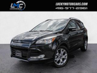 Used 2014 Ford Escape TITANIUM-LEATHER-BACKUP CAMERA-REMOTE START-WE FINANCE for sale in Toronto, ON