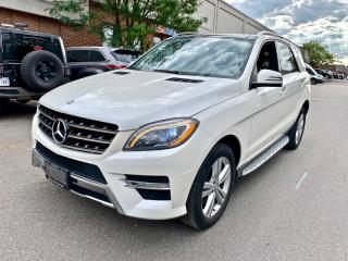 Used 2013 Mercedes-Benz ML-Class 4MATIC 4dr ML350 BlueTEC for sale in North York, ON