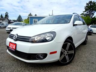 Used 2014 Volkswagen Golf Wagon Comfortline TDI DSG Navigation Panoramic Bluetooth Certified for sale in Guelph, ON