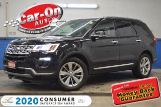 Used 2019 Ford Explorer LIMITED 7 SEAT LEATHER NAV SUNROOF REAR CAM  for sale in Ottawa, ON