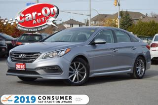 Used 2016 Hyundai Sonata SPORT TECH LEATHER NAV PANO ROOF REAR CAM for sale in Ottawa, ON