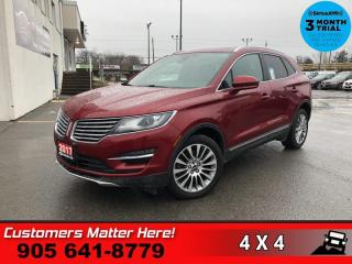 Used 2017 Lincoln MKC Reserve for sale in St. Catharines, ON