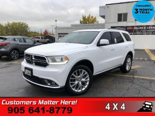 Used 2016 Dodge Durango Limited  AWD NAV ROOF CAM DUAL-DVD HS for sale in St. Catharines, ON