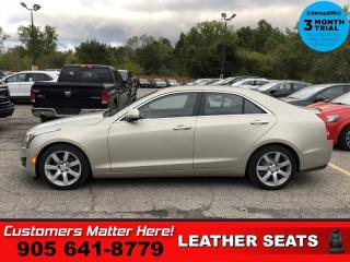 Used 2015 Cadillac ATS 2.5  LEATHER  P/SEAT CLIMATE HS BT for sale in St. Catharines, ON