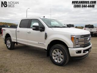 Used 2019 Ford F-350 Super Duty Platinum  -  Navigation for sale in Paradise Hill, SK