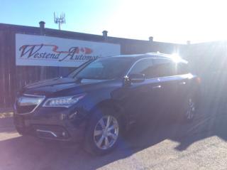 Used 2014 Acura MDX Elite Pkg for sale in Stittsville, ON