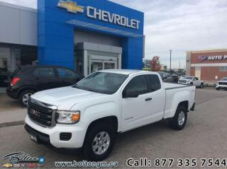 Used 2017 GMC Canyon Base  -  Power Windows - $213 B/W for sale in Bolton, ON