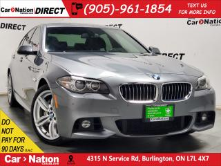 Used 2016 BMW 535 d xDrive| M PACKAGE| SUNROOF| NAVI| for sale in Burlington, ON