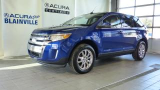 Used 2013 Ford Edge Limited traction intégrale ** BAS KILO * for sale in Blainville, QC