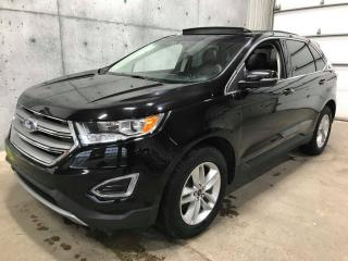 Used 2017 Ford Edge AWD CUIR TOIT PANORAMIQUE * V6 * CAMERA for sale in St-Nicolas, QC