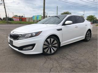 Used 2013 Kia Optima Rare SX | Auto| Panoroof | Nav| Leather| Alloys| for sale in St Catharines, ON