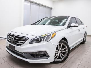 Used 2017 Hyundai Sonata SPORT NAV SIÈGES / VOLANT CHAUF *TOIT PANO* PROMO for sale in St-Jérôme, QC