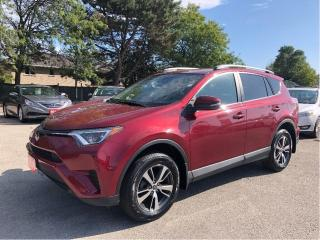 Used 2018 Toyota RAV4 LE/AWD/SAFETY FEATURES/BACKUP CAM for sale in Stoney Creek, ON