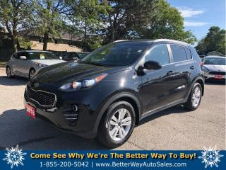 Used 2018 Kia Sportage LX/ AWD/BACKUP CAM/BLUETOOTH for sale in Stoney Creek, ON