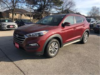 Used 2018 Hyundai Tucson SE AWD  Leather  Pano Roof  Loaded! for sale in Stoney Creek, ON