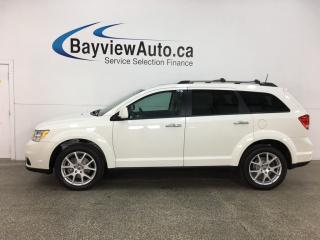 Used 2018 Dodge Journey GT - AWD! 7PASS! HTD LTHR! SUNROOF! DVD! ALLOYS! for sale in Belleville, ON