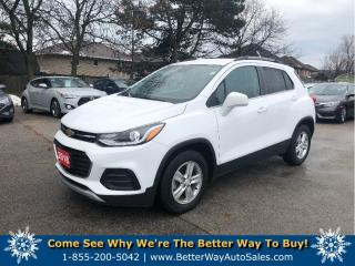Used 2018 Chevrolet Trax LAPPLE CARPLAY/BACKUP CAM/BLUETOOTH for sale in Stoney Creek, ON