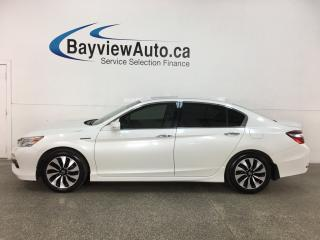 Used 2017 Honda Accord Hybrid Touring - HTD LEATHER! NAV! SUNROOF! ADAPTIVE CRUISE! + MUCH MORE! for sale in Belleville, ON