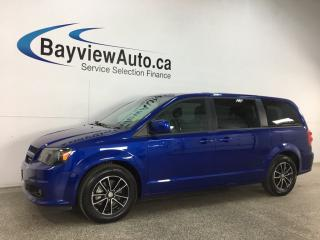 Used 2019 Dodge Grand Caravan GT - BLACKTOP! HTD LEATHER! FULL PWR GROUP! for sale in Belleville, ON