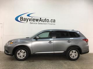 Used 2019 Mitsubishi Outlander ES - AWD! HEATED SEATS! BLUETOOTH! ALLOYS! + MORE! for sale in Belleville, ON