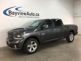 Used 2017 RAM 1500 Sport - 8SPD AUTO! HEMI! 4X4! HTD/COOLED SEATS! SUNROOF! NAV! + MUCH MORE! for sale in Belleville, ON