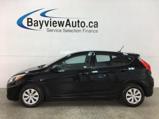 Used 2016 Hyundai Accent L - AUTO! for sale in Belleville, ON