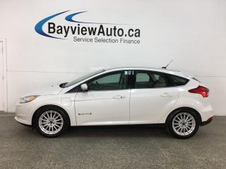 Used 2018 Ford Focus Electric - ONLY 14,900KMS! HTD LTHR! NAV! FULL PWR GROUP! for sale in Belleville, ON