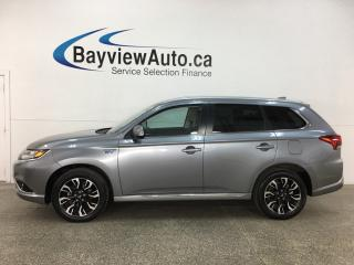 Used 2018 Mitsubishi Outlander Phev - QUICK CHARGE! REVERSE CAM! HTD 1/2 LEATHER! for sale in Belleville, ON