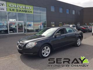 Used 2009 Chevrolet Malibu LS mags, CRUISE, A/C for sale in Chambly, QC