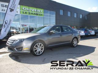 Used 2011 Ford Fusion 4dr Sdn V6 SEL AWD cuir toit ouvrant for sale in Chambly, QC