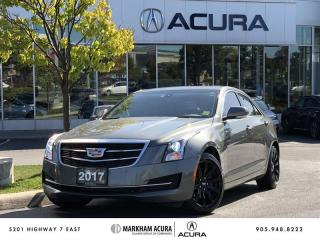 Used 2017 Cadillac ATS Sedan AWD 2.0L Turbo - Luxury Navi, Park Sensors, Bose Audio for sale in Markham, ON