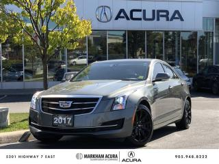 Used 2017 Cadillac ATS Sedan AWD 2.0L Turbo - Luxury Navi, Park Sensors, Bose Audio for sale in Markham, ON