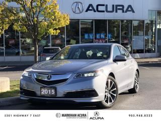 Used 2015 Acura TLX 3.5L SH-AWD w/Tech Pkg Navi, Backup Cam, Heated Seats for sale in Markham, ON