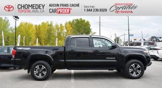 Used 2017 Toyota Tacoma 4X4, V6 TRD SPORT, DOUBLE CAB, GPS, FULL STEP for sale in Laval, QC