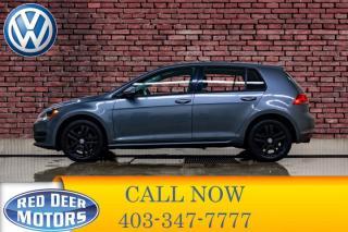 Used 2016 Volkswagen Golf Trendline Hatchback BCam for sale in Red Deer, AB