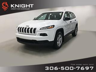 Used 2016 Jeep Cherokee Sport 4x4 | Heated Seats and Steering Wheel | Remote Start for sale in Regina, SK