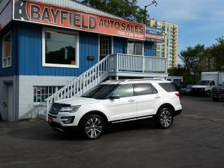 Used 2016 Ford Explorer Platinum **Leather/Navigation/Panoramic Roof** for sale in Barrie, ON